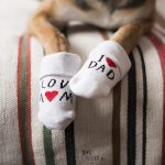 Love mom, love dad, two different socks, www.DOGvision.eu